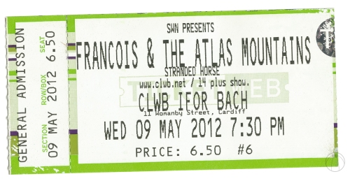 Francois Ticket copy